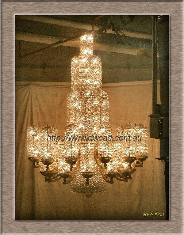 Regent Theatre Art Deco chandelier