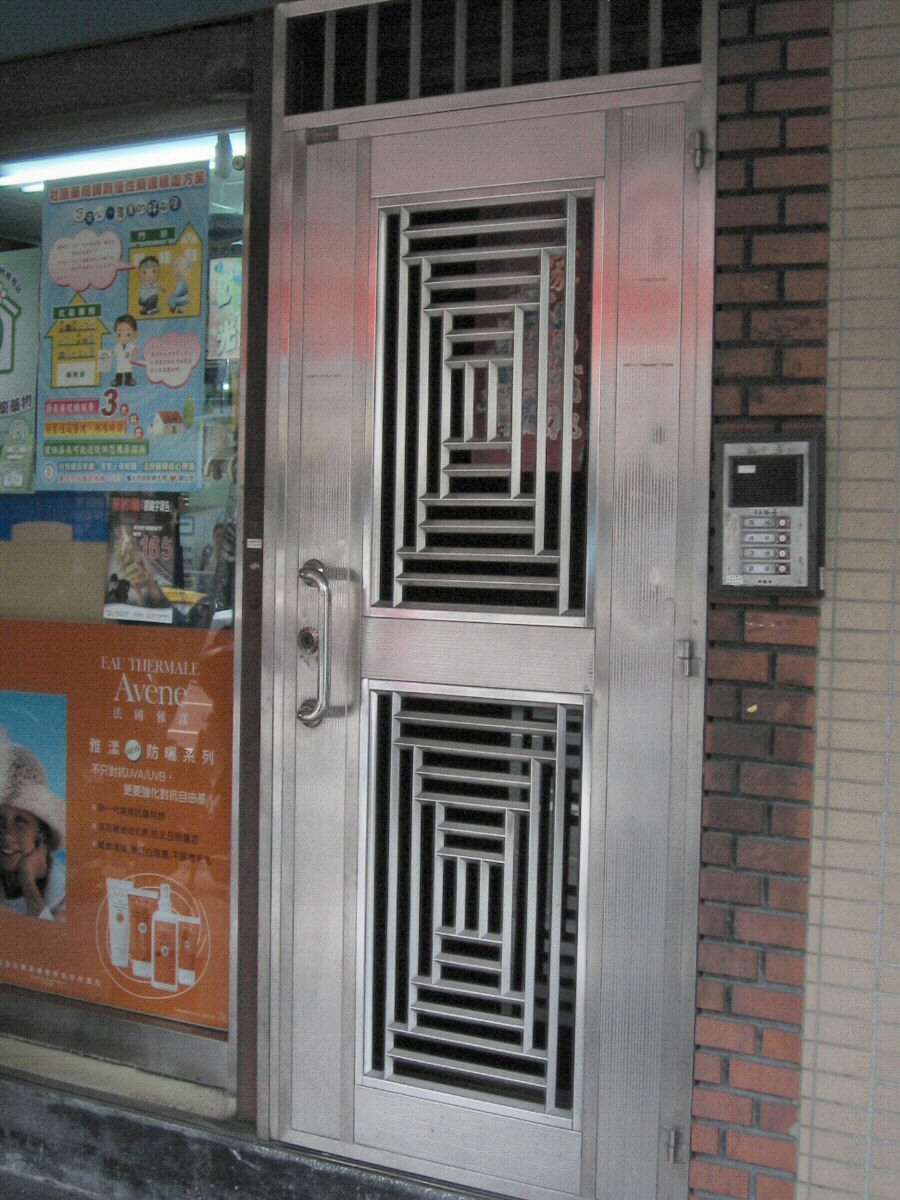 Security doors stainless steel door