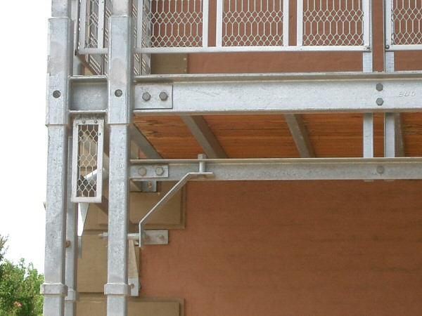 steel verandah