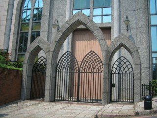 Great steel gate design