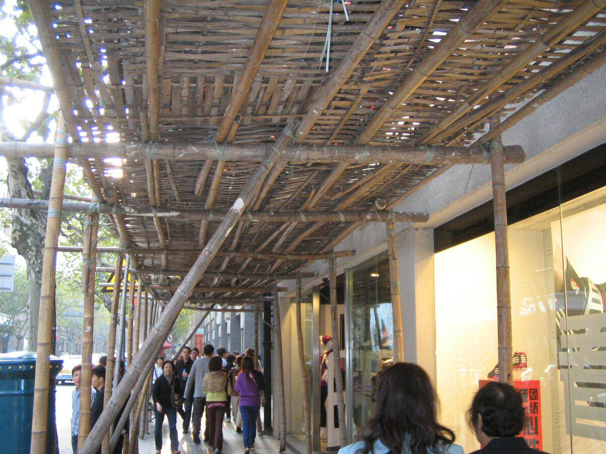 bamboo scaffolding safety