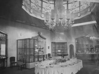Baccarat Art Deco chandelier 1925