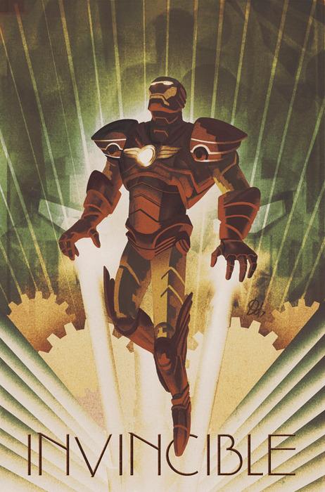Art Deco Ironman