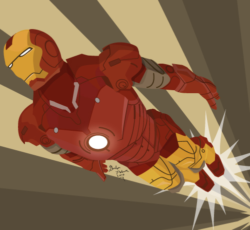gordoMedia's Art Deco Ironman