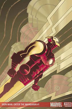 Eric Canete's Art Deco Ironman