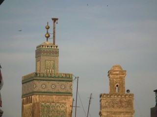 Minaret jamour with two spheres