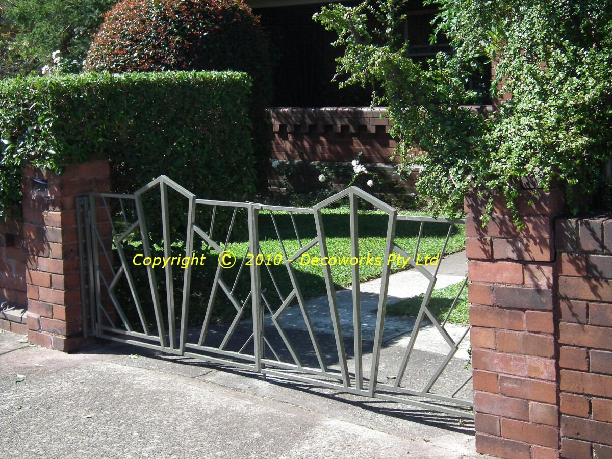 Art Deco Gates