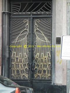 Art Deco design found at 95 Rue Chaouia
