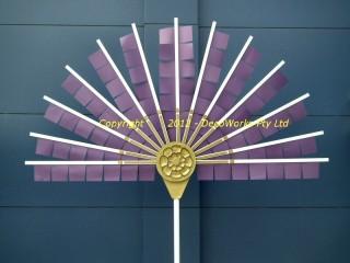 Prop Oriental fan  mechanism