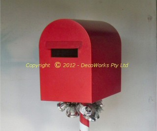 Completed Christmas letterbox