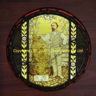 Holtermann stained glass window