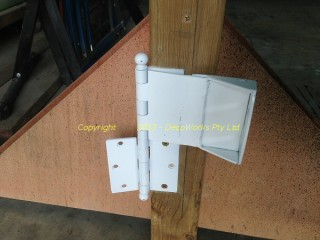 Completed combination hinge