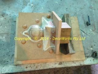 Oriental finial mould making
