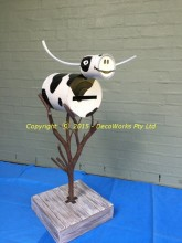 Cow letterbox