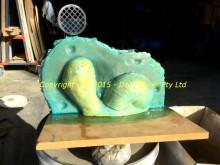 Fibreglass mould half