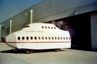 Qantas 747 Jumbo front truck