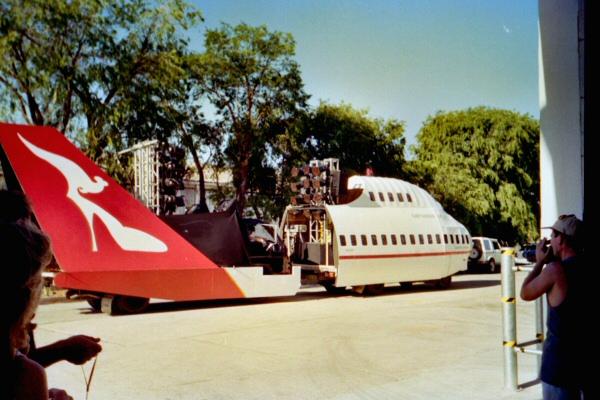 Qantas 747 Jumbo complete float