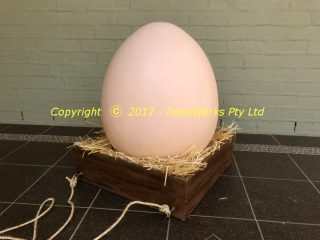 Giant chicken egg