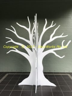 Abstract display tree