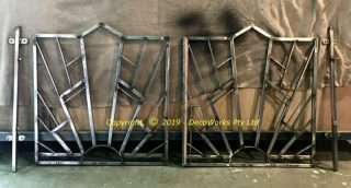 Completed stainless steel gates