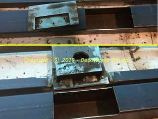 securing steel plates