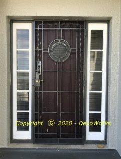 Redesigned security door