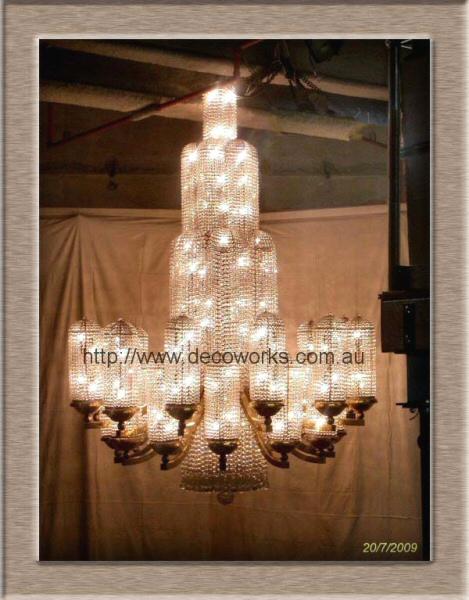 Regent theatre chandelier