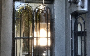 Arched Princess style security bars