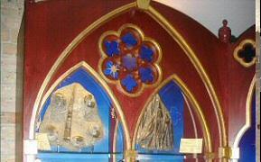 Crystal Room Medieval display cases