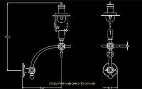 Lantern CAD drawing