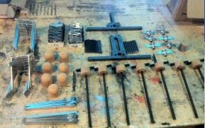Fan mechanism parts