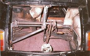 Hand crank drive system