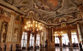 The Ca'Rezzonico palace in Venice