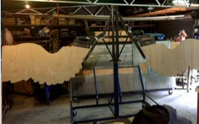 Fitting wing sections