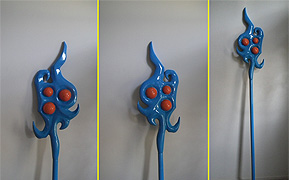 Janna's Staff - League of Legends cosplay prop