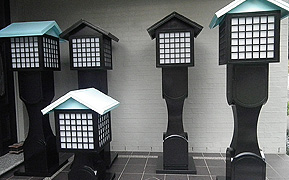 Japanese lanterns from The Mikado