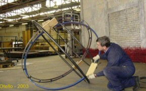 Fitting tropic rings to the sphere