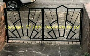 PLAZA double entry front gates