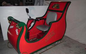 Motorised Santa sleigh