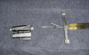 Sword hilt breakaway