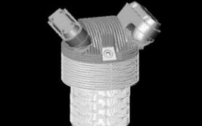 3D render of cylinder