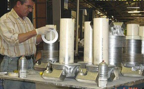 Assembling cylinders