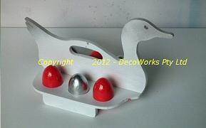 Duck egg rack
