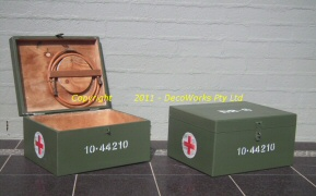 Medical supply boxes