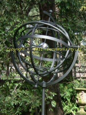 Garden Armillary Sphere