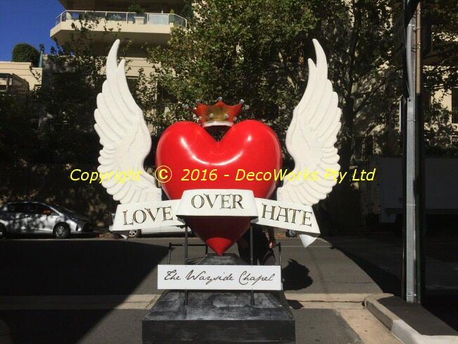 Wayside Chapel Winged Heart