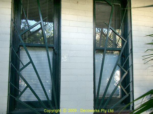 Art Deco Security Windows And Door