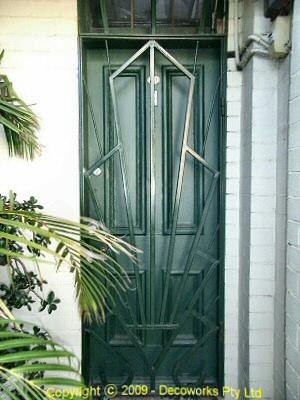 Strand security door