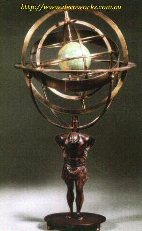 Atlas armillary
