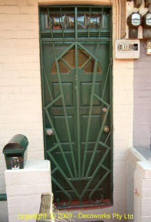 Plaza security door